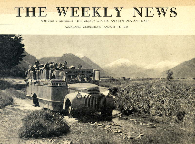 Weekly News, R. Bryant, Routeburn