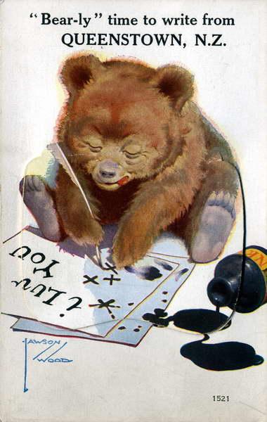 Bear-ly Time to Write