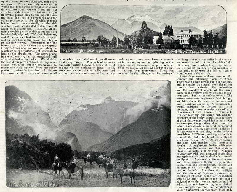 Birley's Earnslaw Hotel, Routeburn Valley