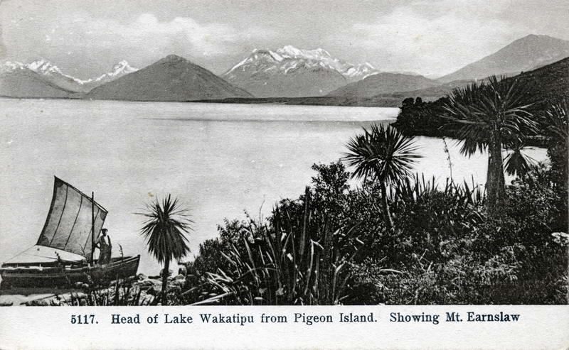 Lake Wakatipu From Pigeon Island