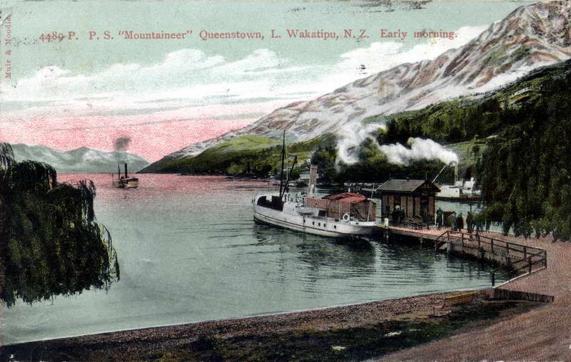 Mountaineer Leaving Queenstown