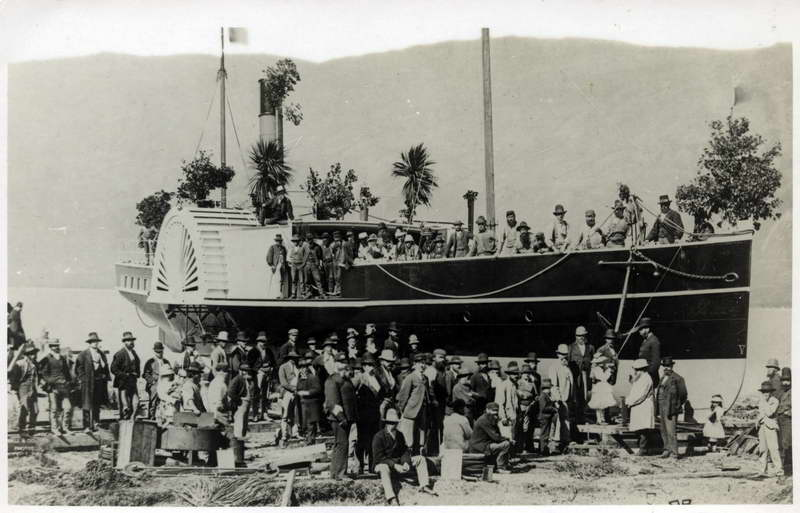 Mountaineer launching, 11/02/1879