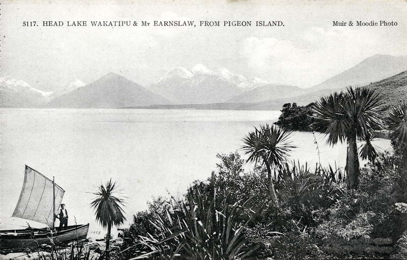 Mt Earnslaw From Pigeon Island