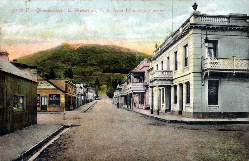 Queenstown from Eichardt's Corner