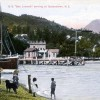 S.S Ben Lomond arriving at Queenstown