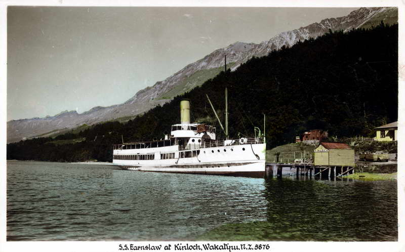 S.S Earnslaw at Kinloch