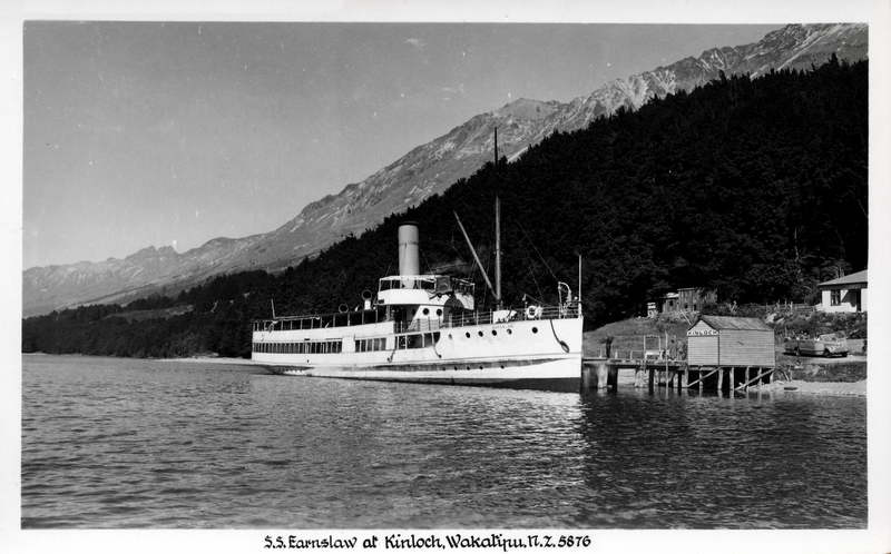 SS Earnslaw at Kinloch
