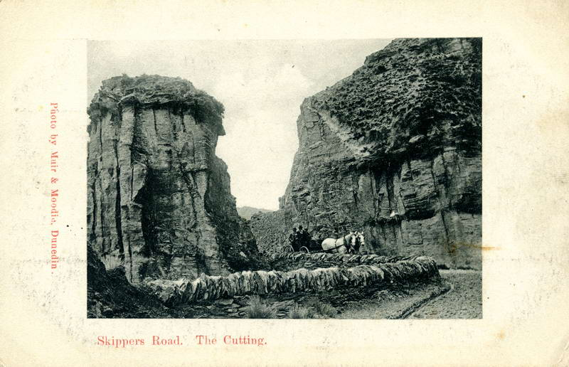 Skippers Road, the Cutting