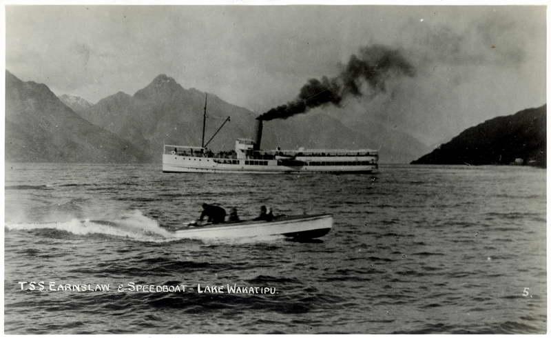 T.S.S Earnslaw & Speedboat