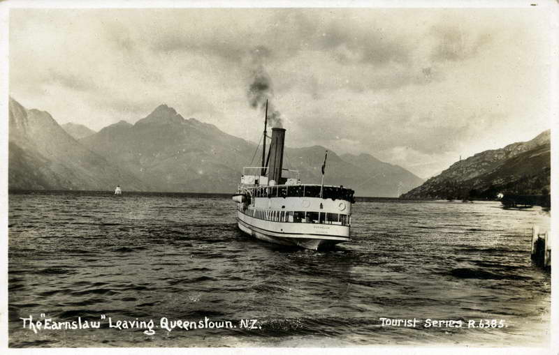 The Earnslaw Leaving Queenstown