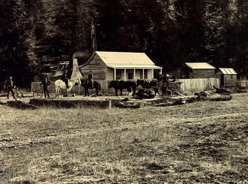 Sawmill Near Kinloch, Grant, Valpy