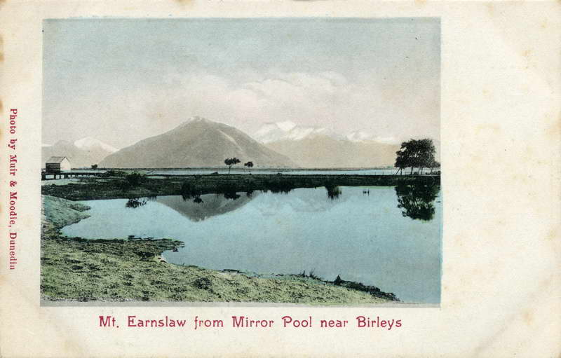 Mt Earnslaw from Birley's Mirror Pool