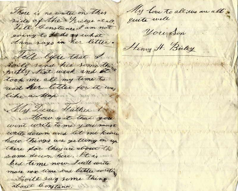 1877 Henry Birley letter (3), P2, Lower Shotover