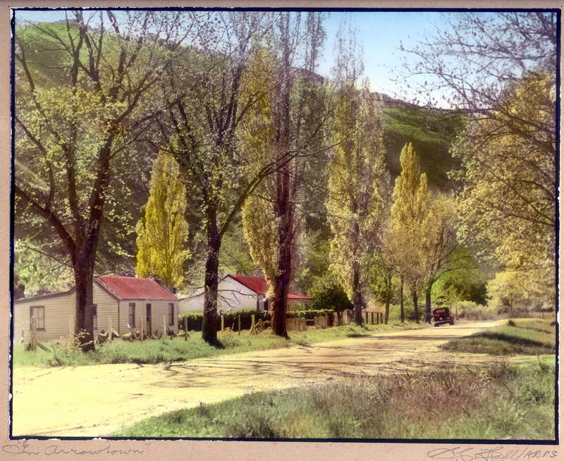 In Arrowtown, Hall Photo