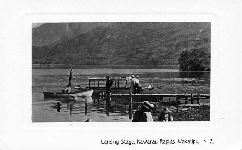 Landing Stage, Kawarau Rapids