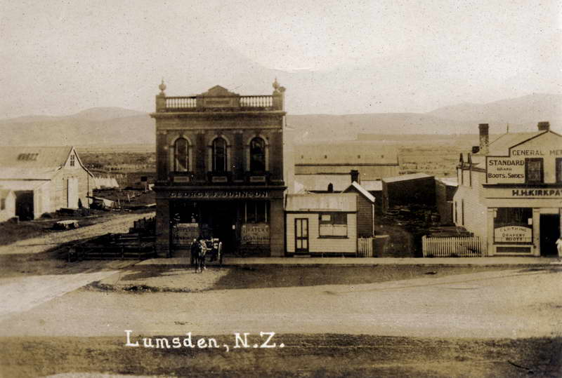 Lumsden New Zealand  city photos gallery : Lumsden | Historic Wakatipu New Zealand – Historic Photographs of ...