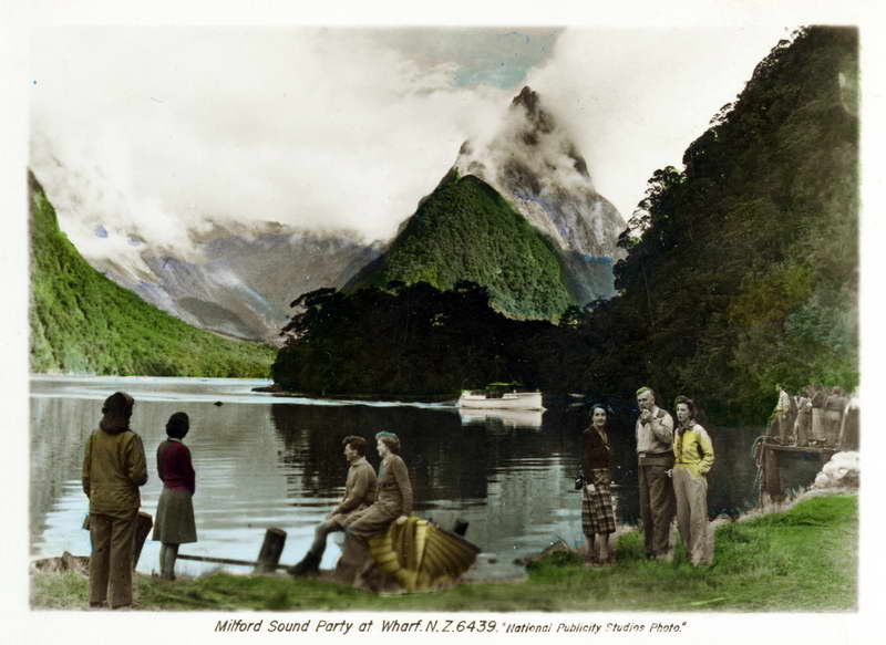 Milford Sound, Party at Wharf