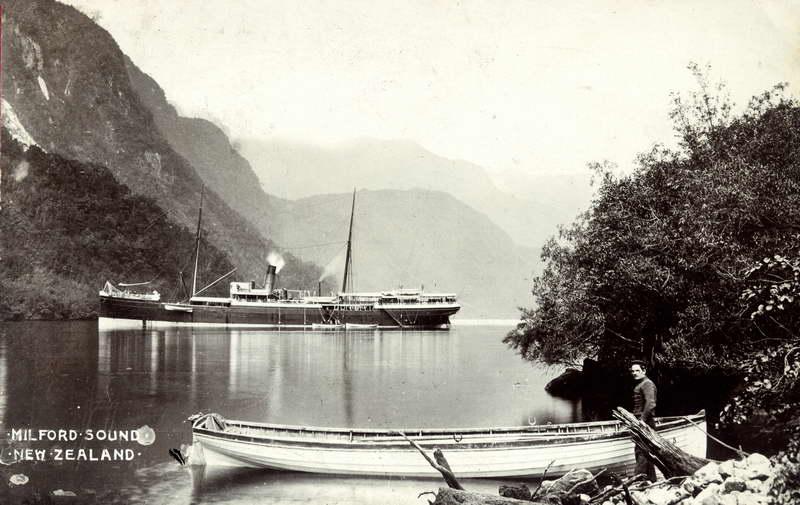 Milford Sound, Steamer