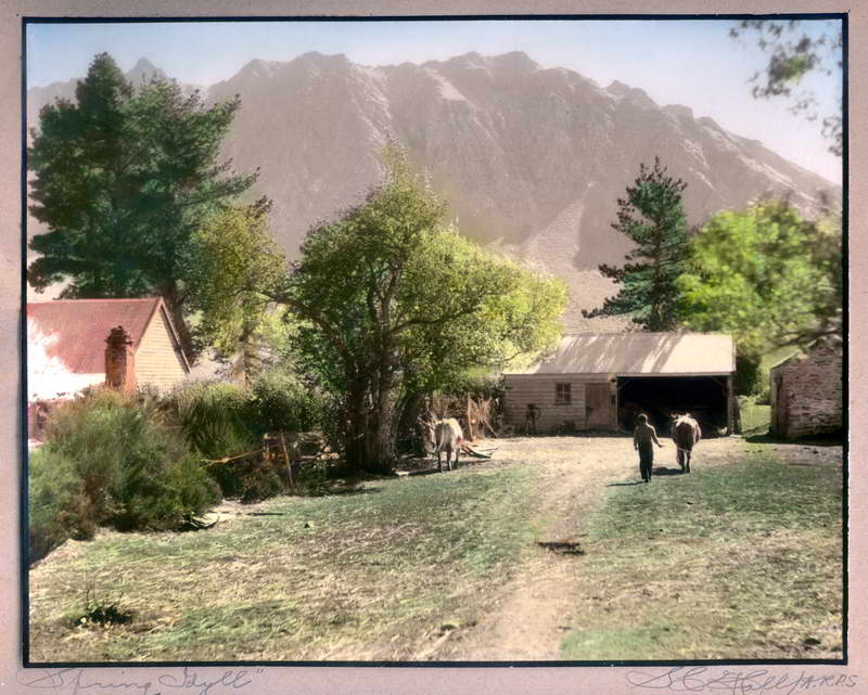Arrowtown in Spring, Hall Photo