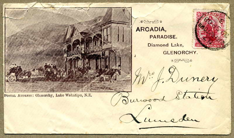 Arcadia - Birley / Dunnery letter