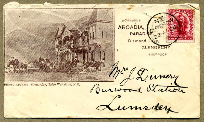 Arcadia - Birley / Dunnery letter 2