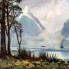 Milford Sound, Mitre Peak - A.H Fullwood