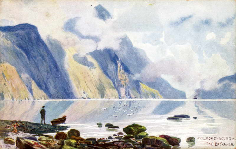 Milford Sound Entrance - A.H Fullwood
