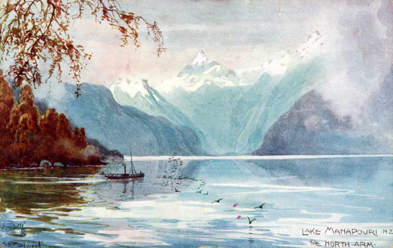 Manapouri North Arm - A.H Fullwood
