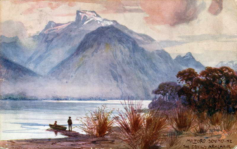 Devils Armchair, Milford Sound - A.H Fullwood