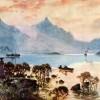 Lake Wakatipu - A.H Fullwood
