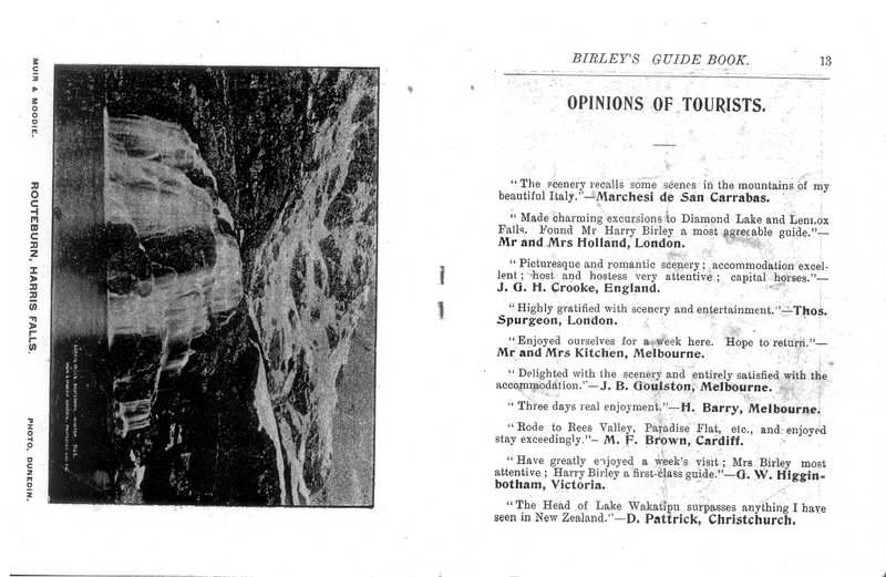 Birley's Guide Book - P13