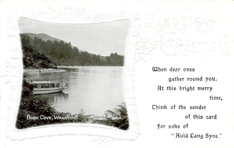Bobs Cove, New Year Greeting Card