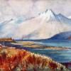 Lake Wakatipu, Humboldt Range - A.H Fullwood
