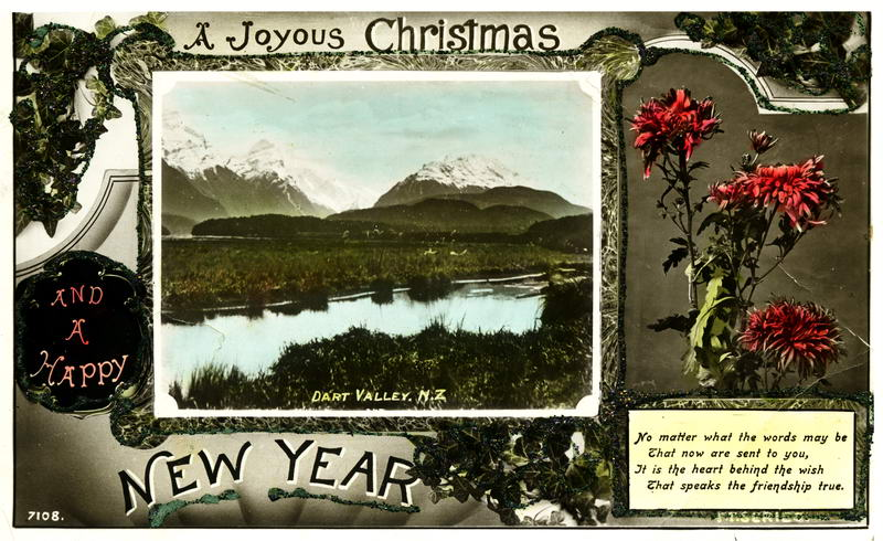 Dart Valley, New Year Card