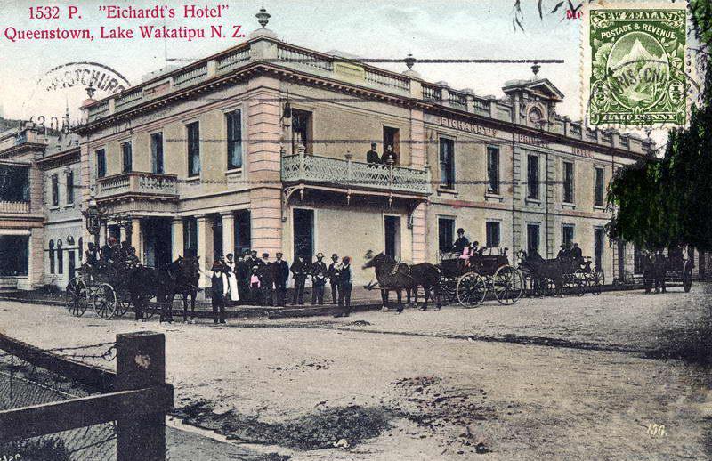 Eichardt's Hotel, Coloured PC