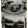 Head of Lake Wakatipu, Xmas Greeting Card