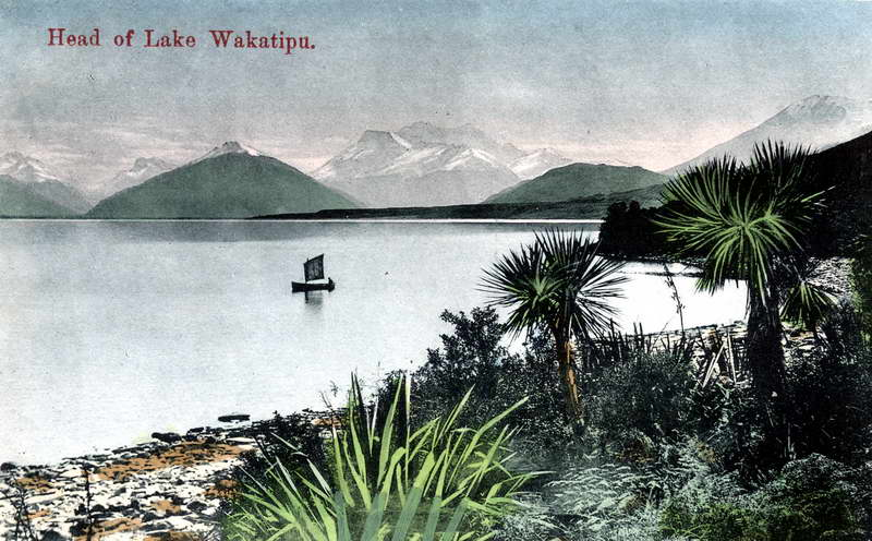 Head of Lake Wakatipu
