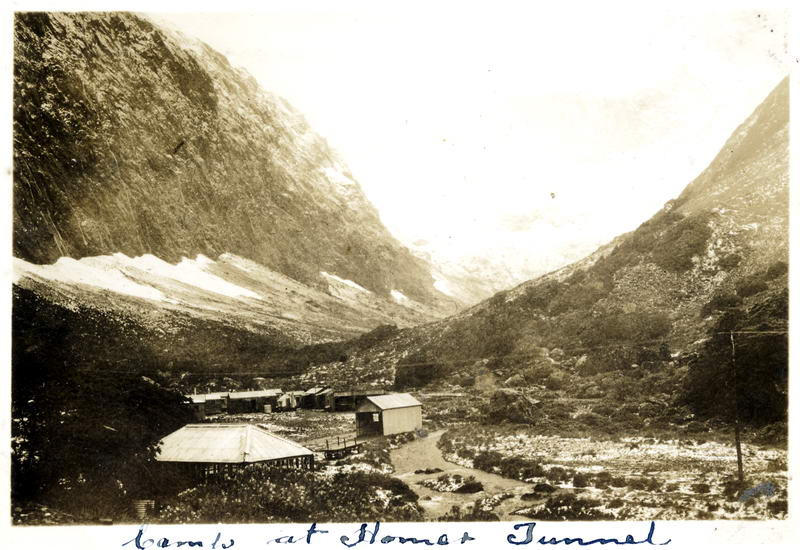 Homer Tunnel Camp