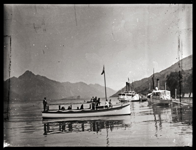 Vessels in Queenstown Bay