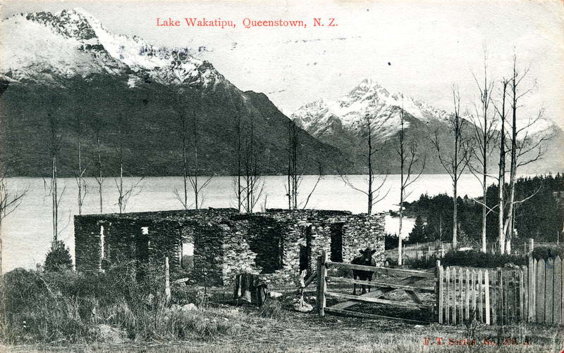 Building Remains, Lake Wakatipu