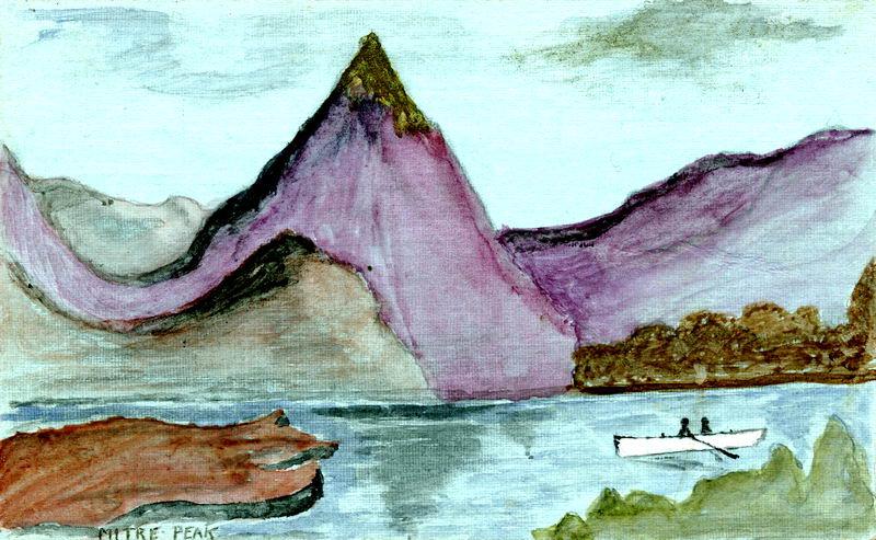Mitre Peak, Artists Card
