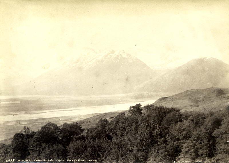 Mt Earnslaw From Precipice Creek