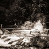 Falls Creek Bridge / Hollyford