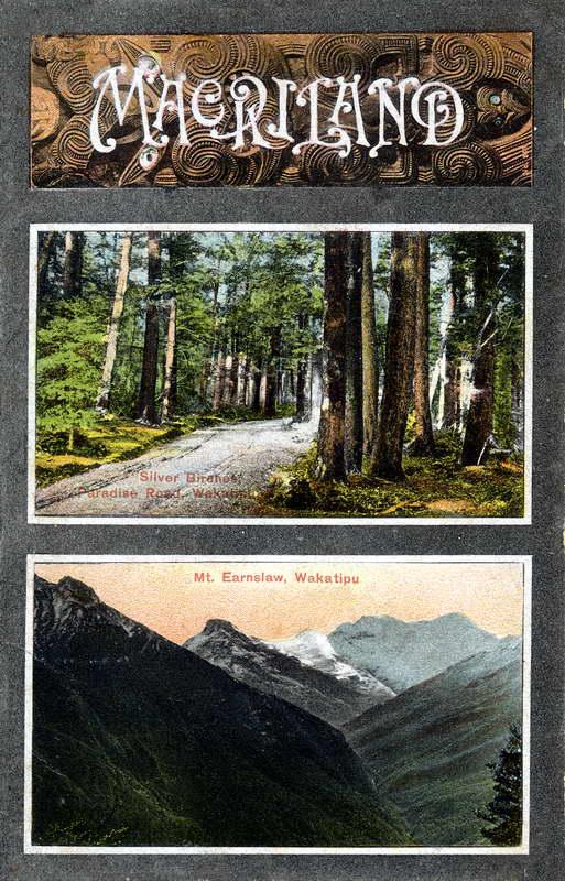Maoriland - Paradise Road - Mt Earnslaw