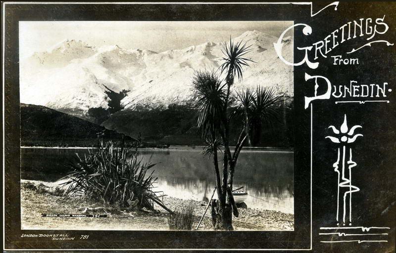 Pigeon Island, Greeting Card