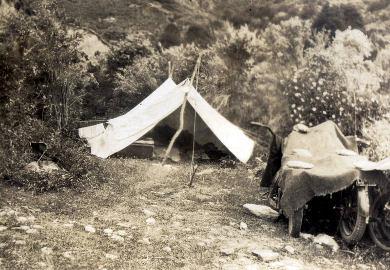 Queenstown Camping Holiday, 1927