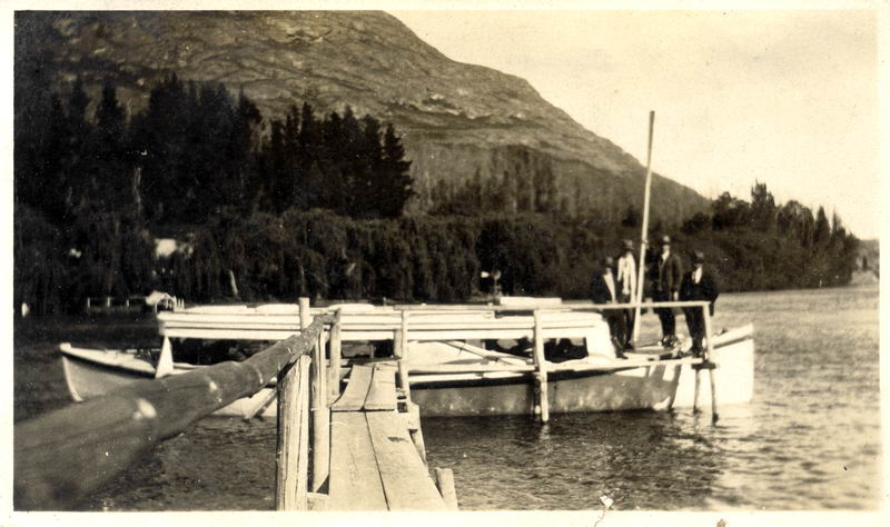 Unknown Queenstown Launch, 1921