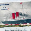 Queenstown Steamer, Pullout Novelty Card