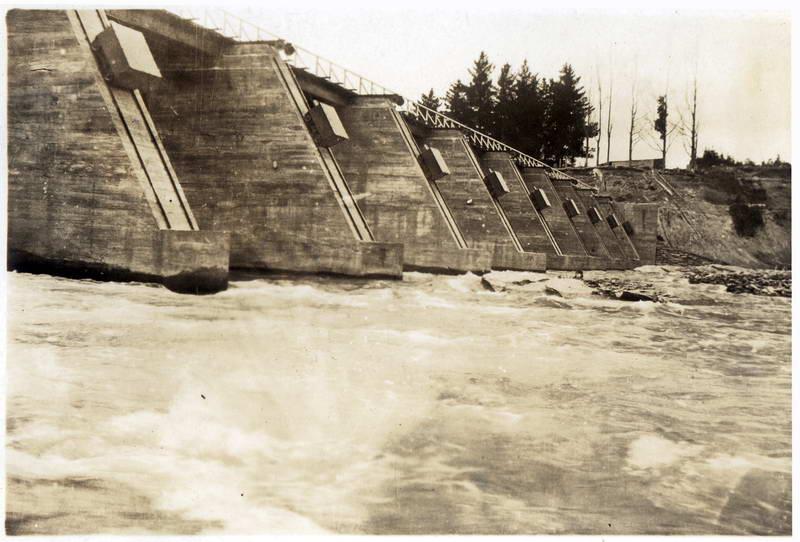Shotover Bridge, 1927