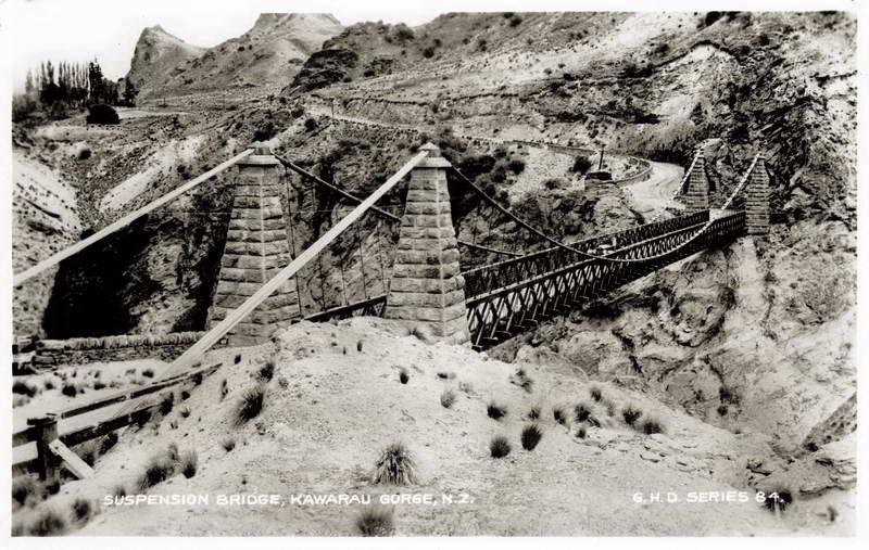 Suspension Bridge - Kawarau Gorge